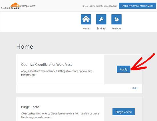 Từ đó, bạn có chạy quyền áp dụng tối ưu hóa WordPress, xóa cache , bật cache tự động, v.v.