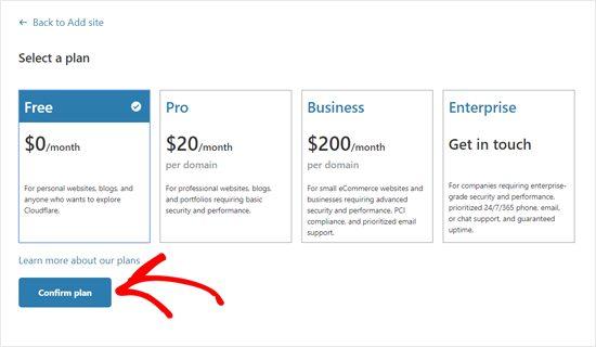 Thiết lập Cloudflare thủ công trên website
