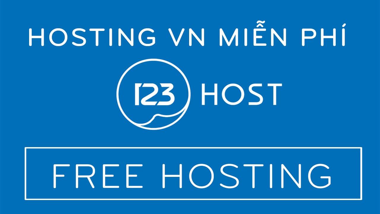 123HOST cung cấp dịch vụ Hosting Miễn phí