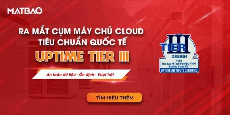 Mắt Bão ra mắt cụm máy chủ Cloud đạt tiêu chuẩn quốc tế Uptime Tier III