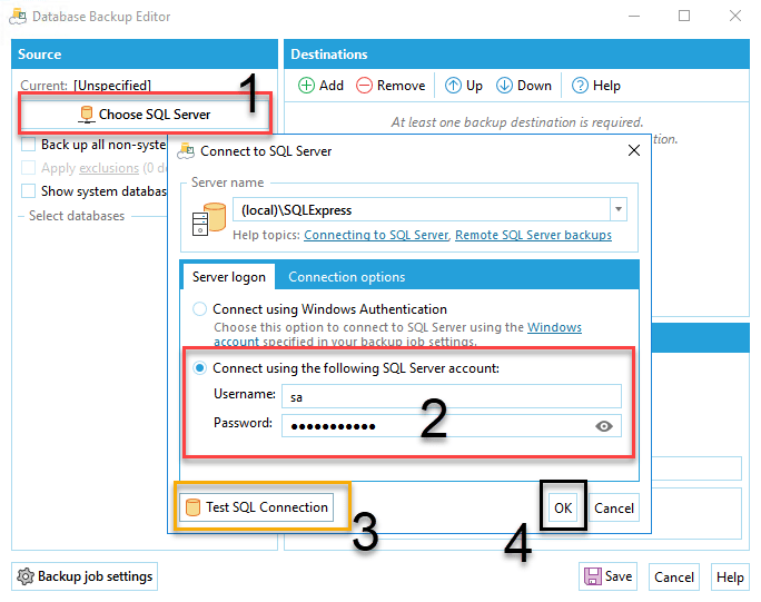 Kết nối SQL Server